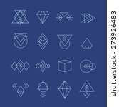 hipster style icons  labels for ... | Shutterstock .eps vector #273926483