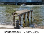 Remains Of The Old Wooden Dock...