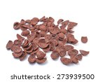 cereal chocolate on white... | Shutterstock . vector #273939500