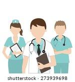 doctor and nurse medical   Shutterstock .eps vector #273939698