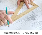 engineering drawing | Shutterstock . vector #273945740