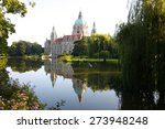 Stock photo the new town city hall rathaus in hannover germany 273948248