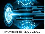dark blue color light abstract... | Shutterstock .eps vector #273962720