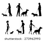 vector illustration of a people ... | Shutterstock .eps vector #273962993