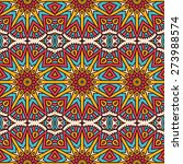 seamless pattern. vintage... | Shutterstock .eps vector #273988574