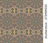 seamless pattern. vintage... | Shutterstock .eps vector #273989033