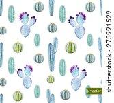 watercolor tropical vector... | Shutterstock .eps vector #273991529
