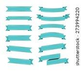 ribbon icons | Shutterstock .eps vector #273994220