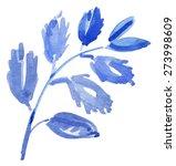 flower brunch with spring... | Shutterstock .eps vector #273998609