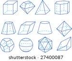 geometrical figures | Shutterstock .eps vector #27400087