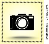 photo camera sign icon  vector... | Shutterstock .eps vector #274023596