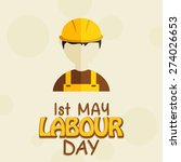 labour day | Shutterstock .eps vector #274026653