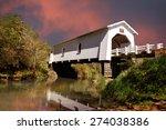Covered Bridge Over Crabtree...