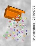 an illustration of marbles... | Shutterstock . vector #27404773
