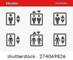 elevator icons. professional ... | Shutterstock .eps vector #274069826