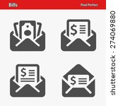 bills icons. professional ... | Shutterstock .eps vector #274069880