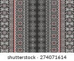 tribal ethnic pattern... | Shutterstock .eps vector #274071614