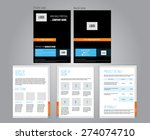 vector commercial proposal... | Shutterstock .eps vector #274074710