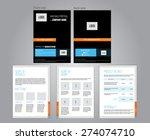 vector commercial proposal... | Shutterstock .eps vector #274074710
