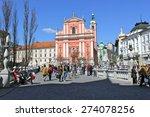 ljubljana  slovenia mar. 28 ... | Shutterstock . vector #274078256