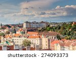 scenic view of the historical... | Shutterstock . vector #274093373