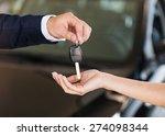 car  dealership  handshake.   Shutterstock . vector #274098344