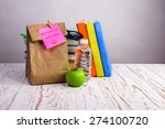 don't forget lunch   paper... | Shutterstock . vector #274100720