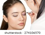 make up  make over series ... | Shutterstock . vector #274106570