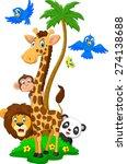 Cartoon Island Animals