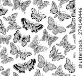 seamless pattern with... | Shutterstock .eps vector #274140446