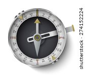classic compass with long... | Shutterstock .eps vector #274152224