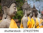 Buddha Statues Ayutthaya...