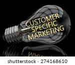 customer specific marketing  ... | Shutterstock . vector #274168610