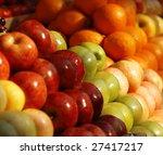 Various Fresh Fruits At The...
