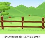 Illustration Of A Vast Farmlan...