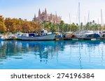 palma de mallorca port marina... | Shutterstock . vector #274196384