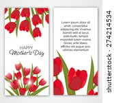 vector illustration of a banner ... | Shutterstock .eps vector #274214534