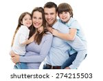 happy family | Shutterstock . vector #274215503