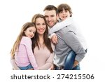 happy family | Shutterstock . vector #274215506