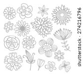 a vector illustration of... | Shutterstock .eps vector #274216796