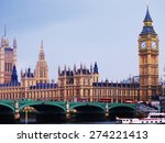 Big Ben And Westminster Abbey...