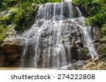 Abseiling At Wangtum Waterfall...