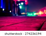 colorful shop windows. view... | Shutterstock . vector #274236194
