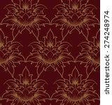 thai art background  abstract...   Shutterstock .eps vector #274248974