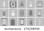 Collection Of Retro Windows On...