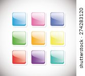 buttons | Shutterstock .eps vector #274283120
