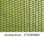 texture of green rattan... | Shutterstock . vector #274284884