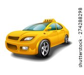 taxi car | Shutterstock .eps vector #274288298