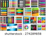 colorful modern text box... | Shutterstock .eps vector #274289858