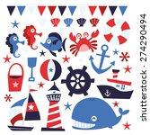 a vector illustration of... | Shutterstock .eps vector #274290494